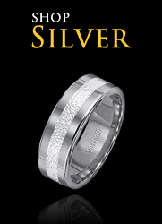 stainless wedding bands